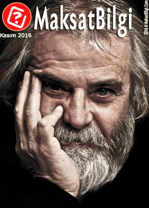 MaksatBilgi Kasım 2016 Kapağı -Tarık Akan