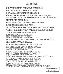 Deniz Tasi 255x300 - Atalay Demirci