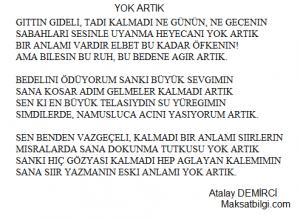 YOK ARTIK 300x219 - Atalay Demirci