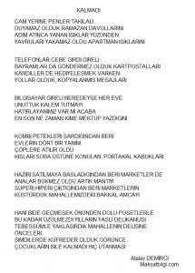 kalmadı 215x300 - Atalay Demirci