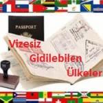 Vizesiz Gidilebilecek Ülkelerin Güncel Listesi