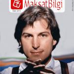 MaksatBilgi Kapak Ekim 2014 – Steve Jobs