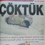 17 Ağustos 1999 Depreminin ertesi günü atılan manşetler