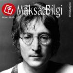 MaksatBilgi Ekim 2015 Kapağı – John Lennon