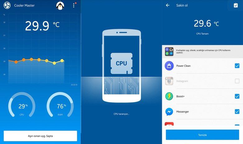 cooler-master Android Telefonları Hızlandıracak 5 Uygulama