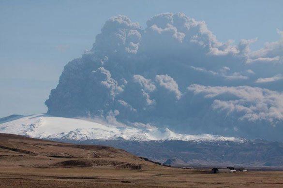 Eyjafjallajökull-İzlanda