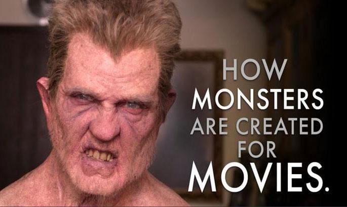 yaratik-makyaji-nasil-yapilir Filmlerdeki Yaratıkların Makyajları Nasıl Yapılıyor?