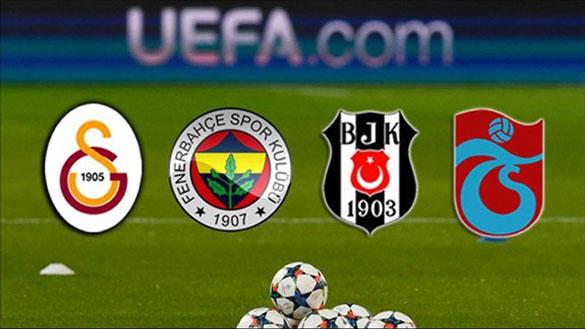 uefa Türk Futbol Takımlarının, Avrupa Liglerindeki Durumu
