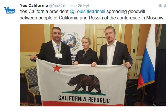 yes4 Kaliforniya ABD'den Ayrılmayı Planlıyor