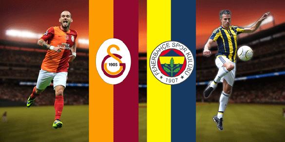 twitter'da en çok konuşulanlar Galatasaray - Fenerbahçe