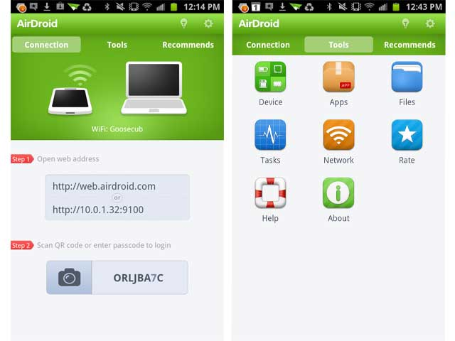 AirDroid Akıllı Cihazlarda Olmazsa Olmaz 20 Uygulama