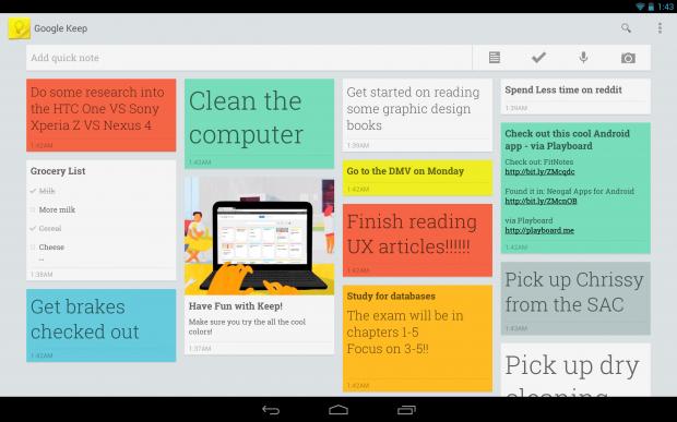 Google Keep Akıllı Cihazlarda Olmazsa Olmaz 20 Uygulama