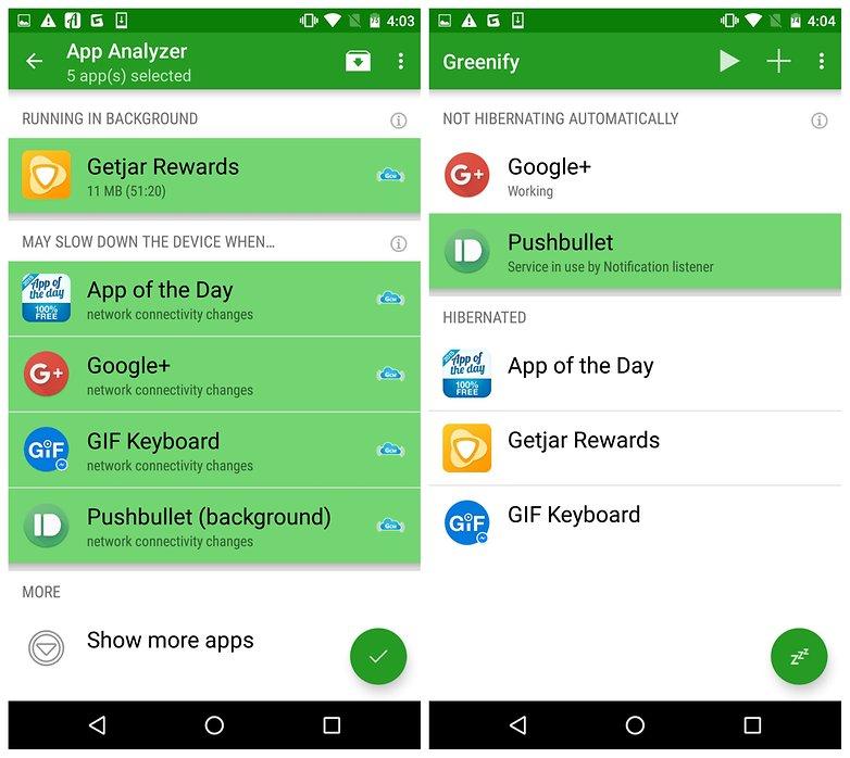 Greenify Akıllı Cihazlarda Olmazsa Olmaz 20 Uygulama
