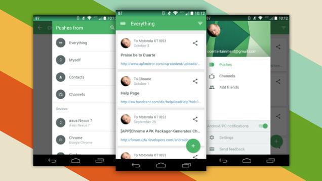PushBullet Akıllı Cihazlarda Olmazsa Olmaz 20 Uygulama