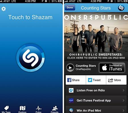 Shazam Akıllı Cihazlarda Olmazsa Olmaz 20 Uygulama