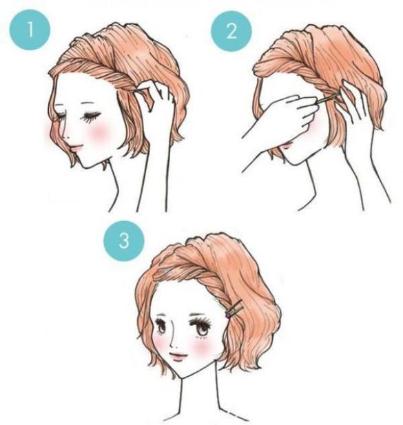 Kolayca Yapabileceğiniz 20 Pratik Saç Modeli
