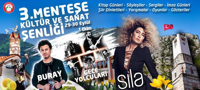 Muğla'da Sıla, Buray ve Gece Yolcuları Konseri