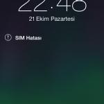 iOS 7 de Geçersiz Sim Hatası Çözümü!